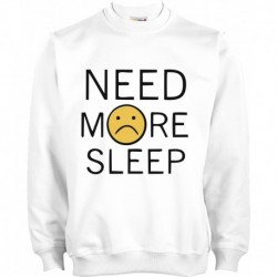 SUDADERA NEED MORE SLEEP
