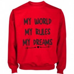 SUDADERA MY WORLD